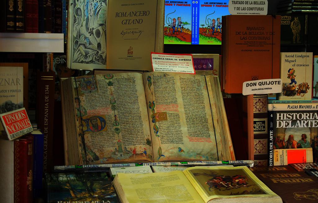 Fiera del Libro di Madrid / foto M.Peinado (Flickr / C.C.)