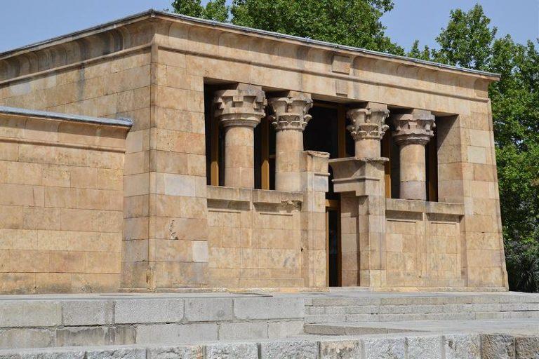 Tempio Debod a Madrid