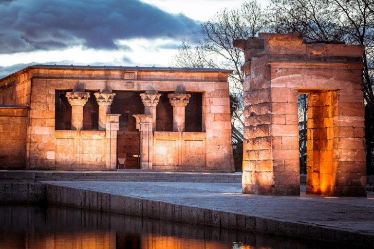 Tempio di Debod a Madrid