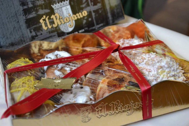 Ciambelle tradizionali di Madrid, dolce tipici
