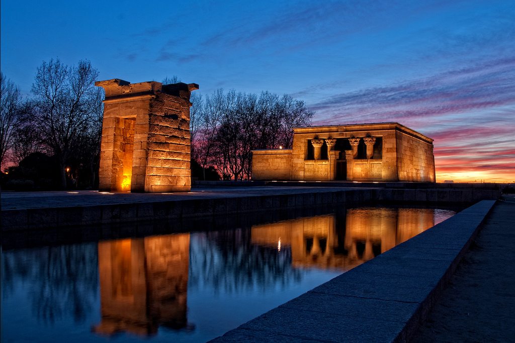 Tempio di Debod / foto: danimero (Flickr / C.C.)