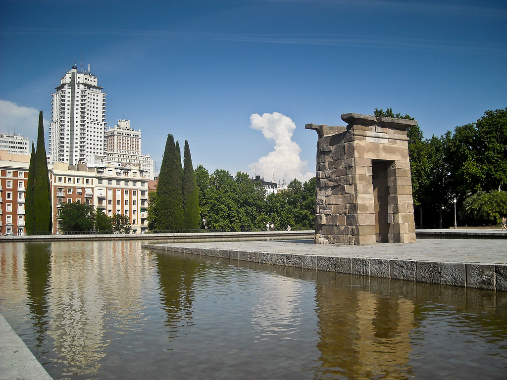 Tempio di Debod / foto jmiguel.rodriguez (Flickr / C.C.)