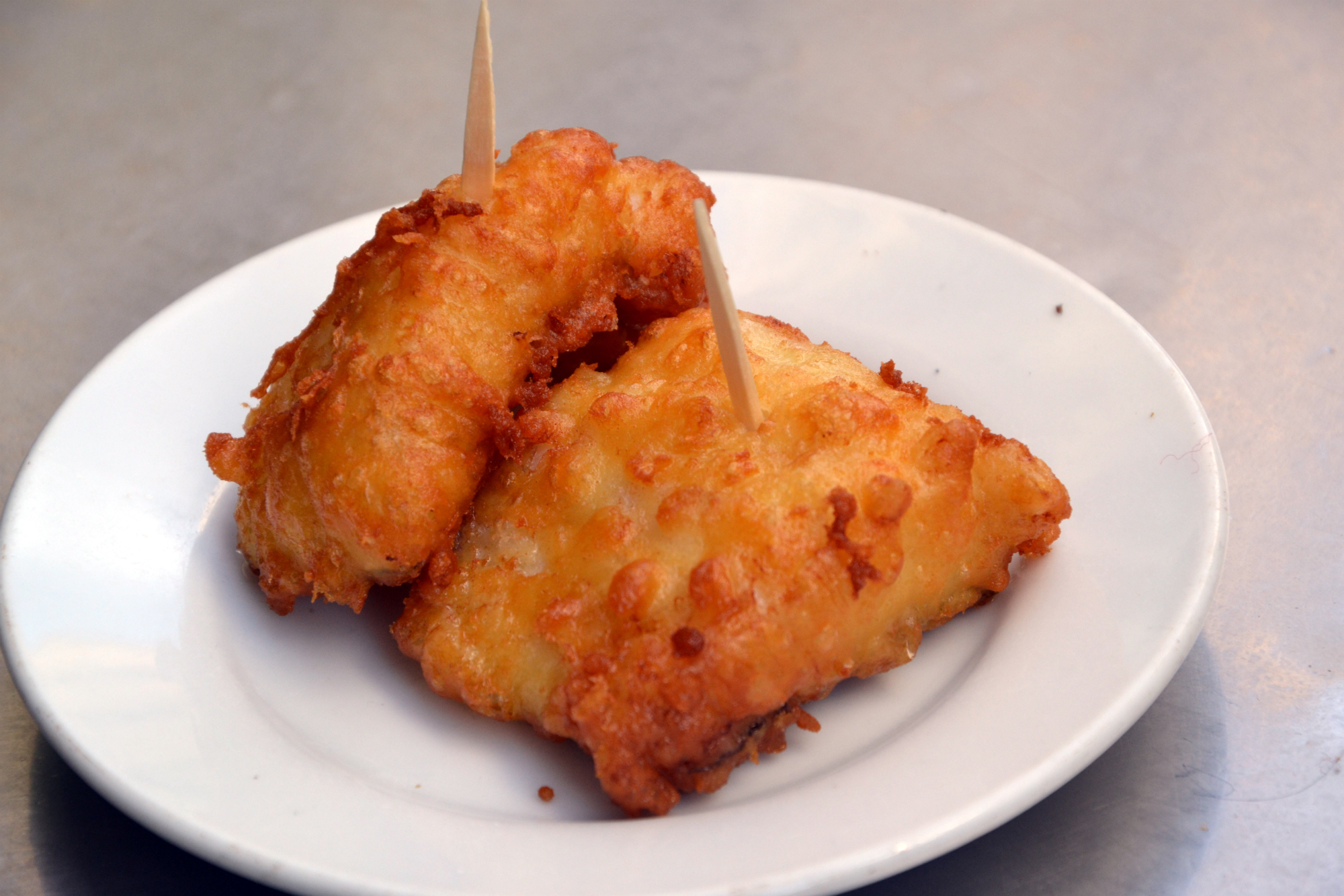 Baccalà fritto (bacalao frito) Casa Labra