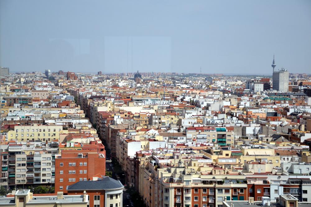 Vista dal Faro de Moncloa