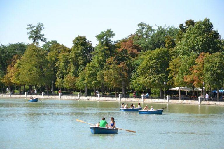 Parco del Retiro Laghetto