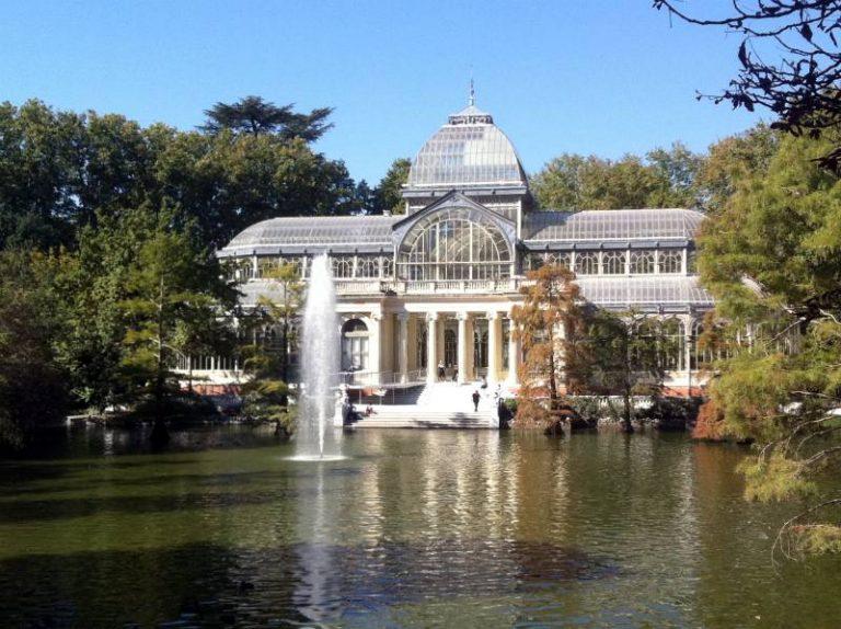 Parco del Retiro Palazzo di Vetro
