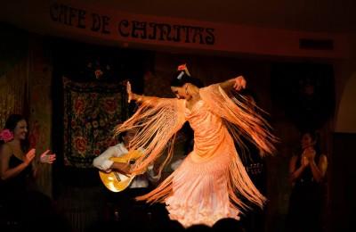 Cafe Chinitas Spettacolo Flamenco a Madrid