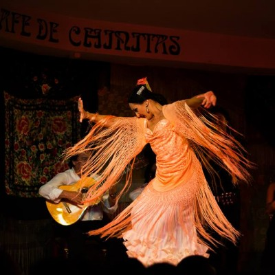 Cafe Chinitas Spettacolo Flamenco a Madrid