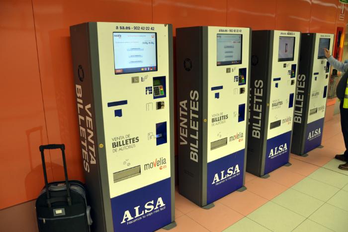Distributori automatici di biglietti