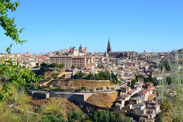 Toledo, Patrimonio dell'UNESCO, una delle città più belle in Spagna