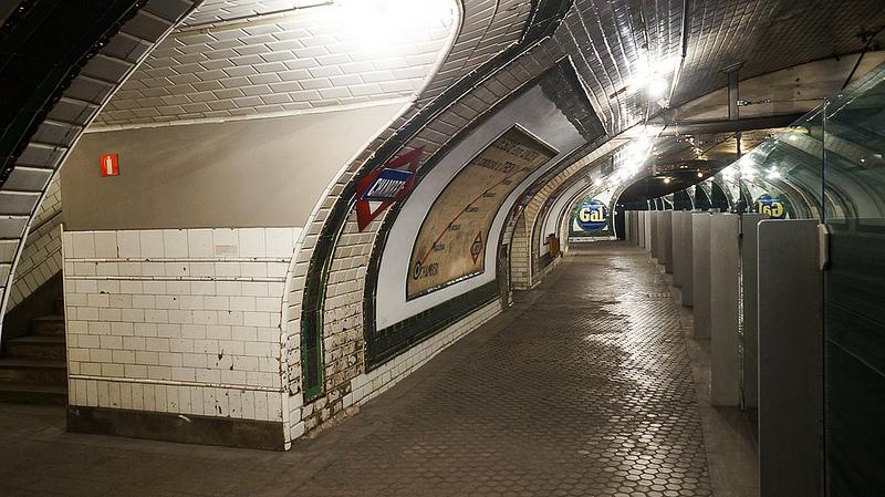 La vecchia stazione della metropolitana di Chamberí, ora trasformata in museo / Foto: Antonio Tajuelo (Flick / C.C.)