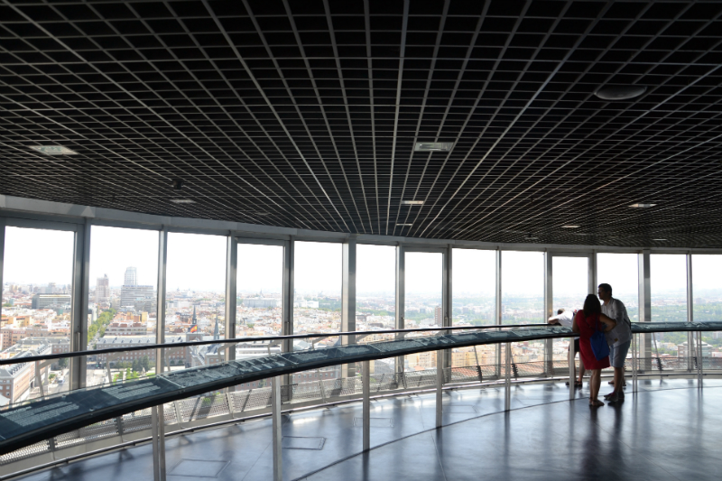 Il faro di Moncloa offre, senza dubbio, i migliori panorami della città / Foto: OgoTours