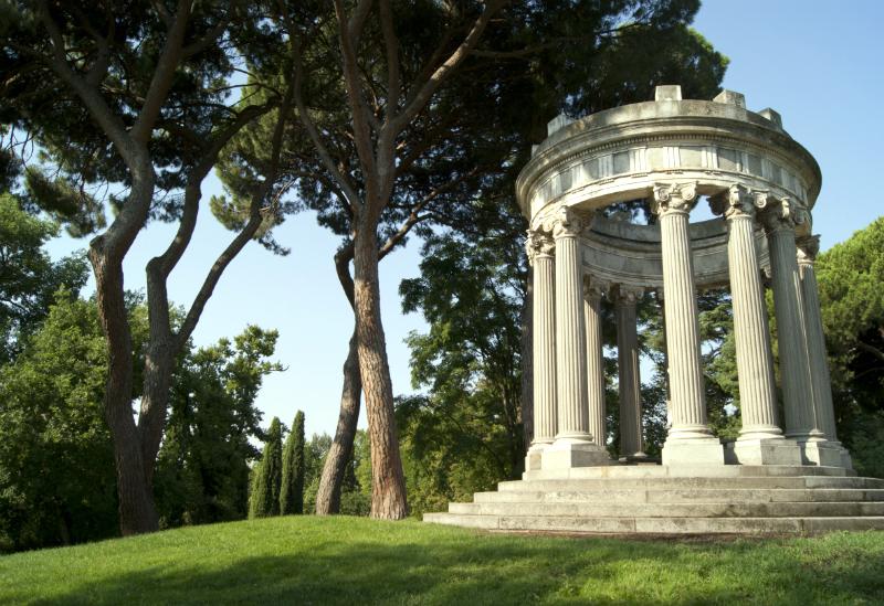 Il parco Capricho, con 14 ettari, è uno dei polmoni della città / Foto: Wikipedia / C.C.