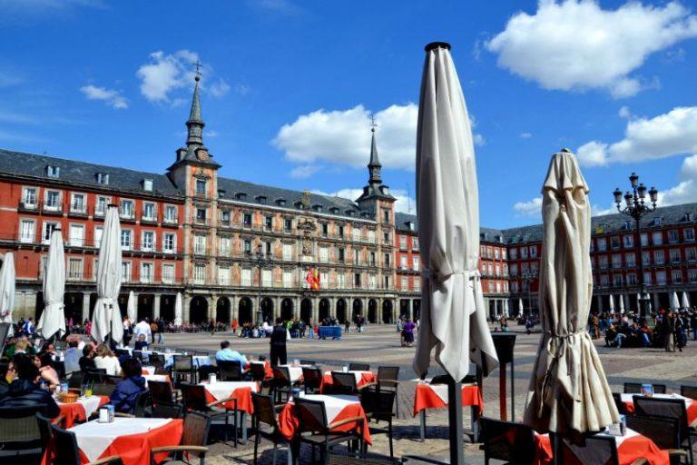 Plaza Mayor di Madri