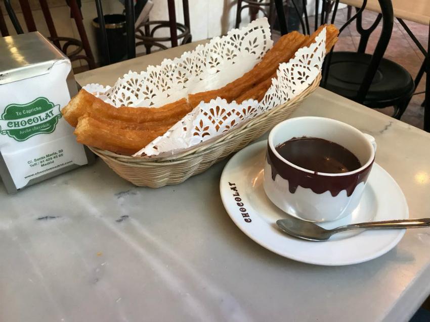 Dove mangiare churros e cioccolata a Madrid?