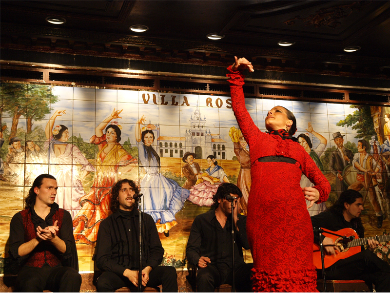 Dove vedere Flamenco a Madrid |Foto: Tablao Villarosa
