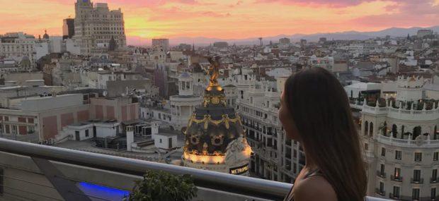 Viste della città da CiCosa fare a Madrid? Estate 2019